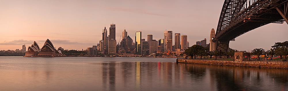 Sydney at First Light