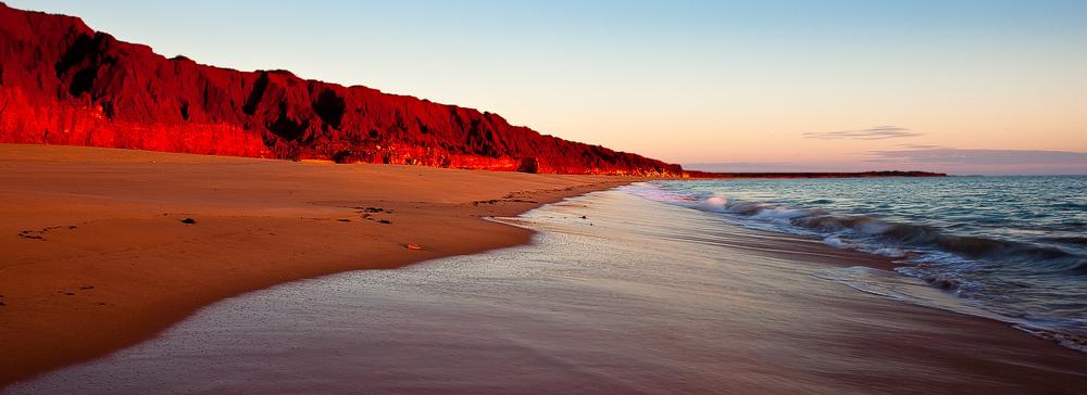 James Price Point sunset