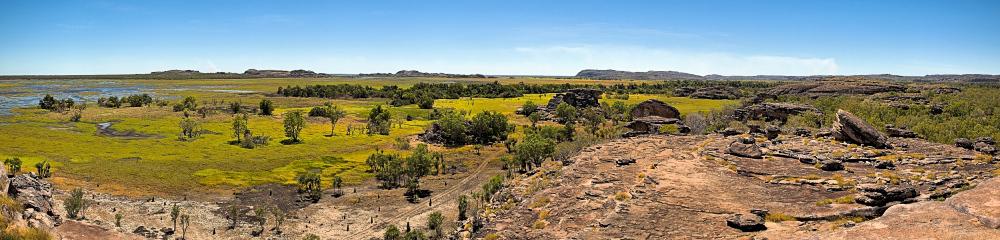 Top of Ubirr Rock Panorama