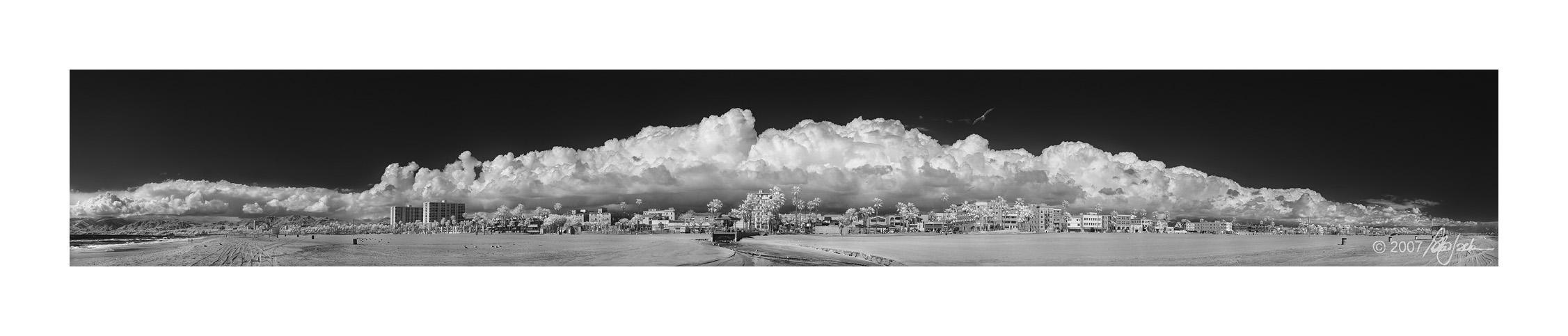 Venice Beach Clouds Infrared