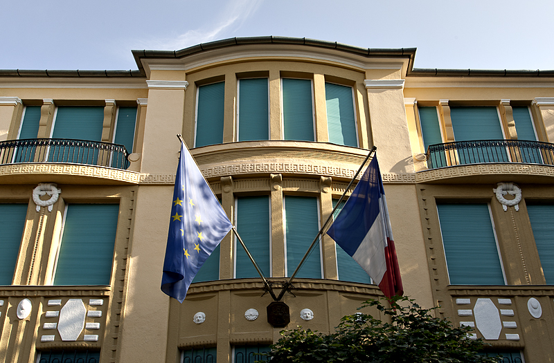 Panache at the French Embassy