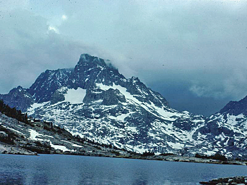 Banner Peak From Thousand Island Lake
