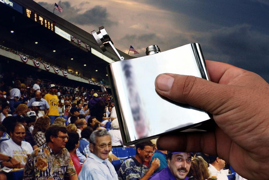 Patriotism At The Stadium