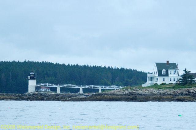 Entering Port Clyde