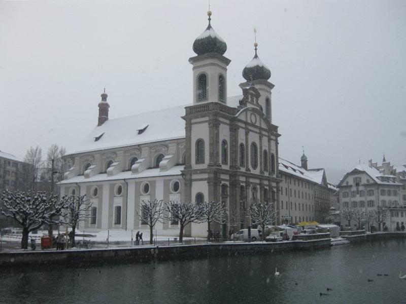 Luzern.Jesuitenkirche