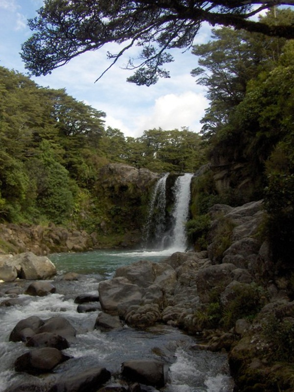Tawhai Falls. New Zealand
