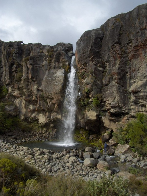 Taranaki Falls. New Zealand
