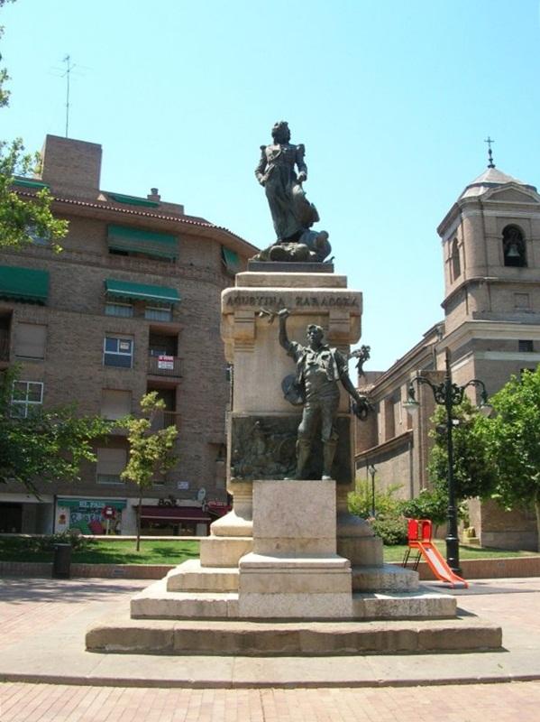 Monumento a Agustina de Aragon