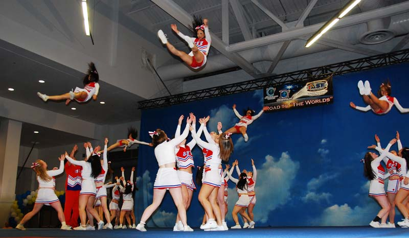 Sea to Sky cheer competition