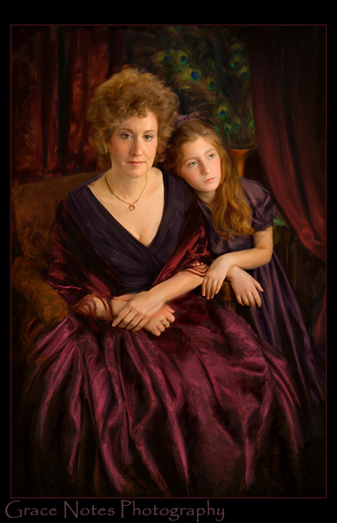 Ms Greenberg and her Daughter