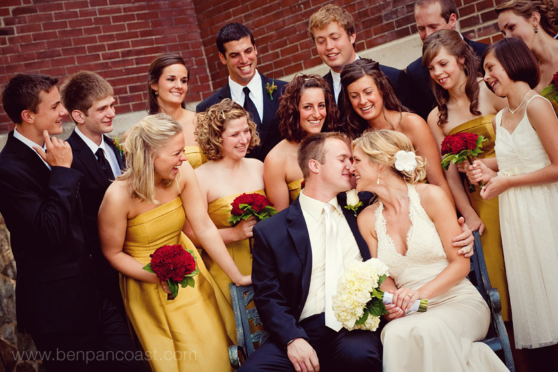 Dan Sarahs Wedding In Lawrence Michigan