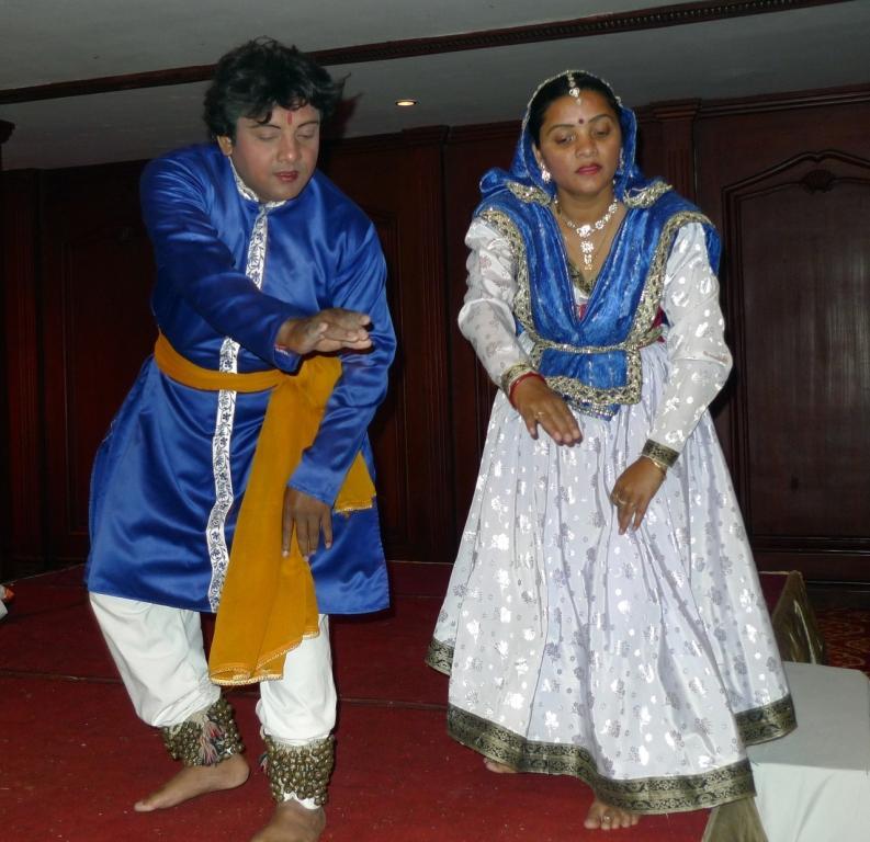 Classical Kathak Dancers