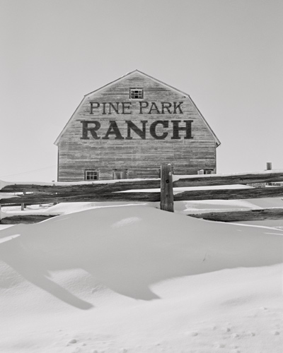 Barn and Snow, Colorado, 2000