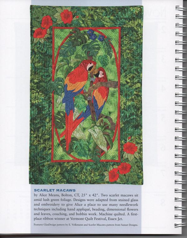 Alice Means: Scarlet Macaws