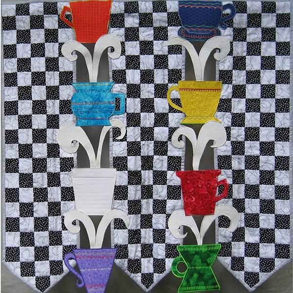 Normajean Brevik: Kona Coffee Quilt
