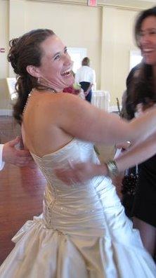 Audrey Dancing At Her Wedding