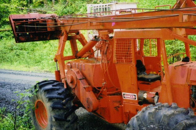 Eccologger on a Can-Car Skidder