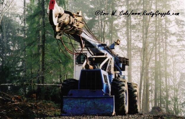EccoLogger on a Clark 668 Skidder