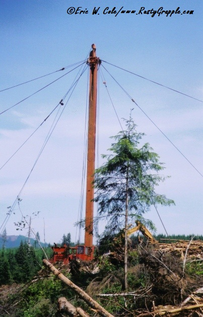 Triple-Drum Yarder with Berger Tower
