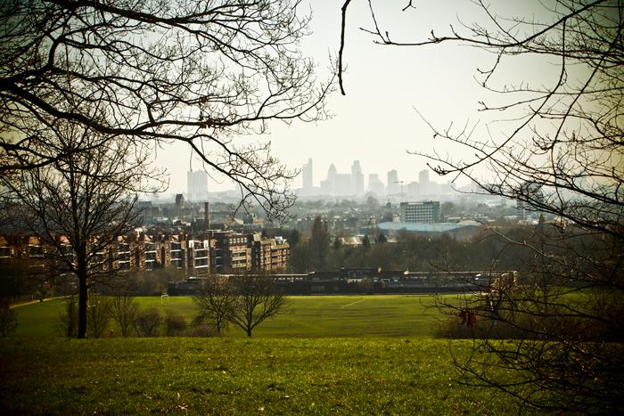 London Parliament Hill