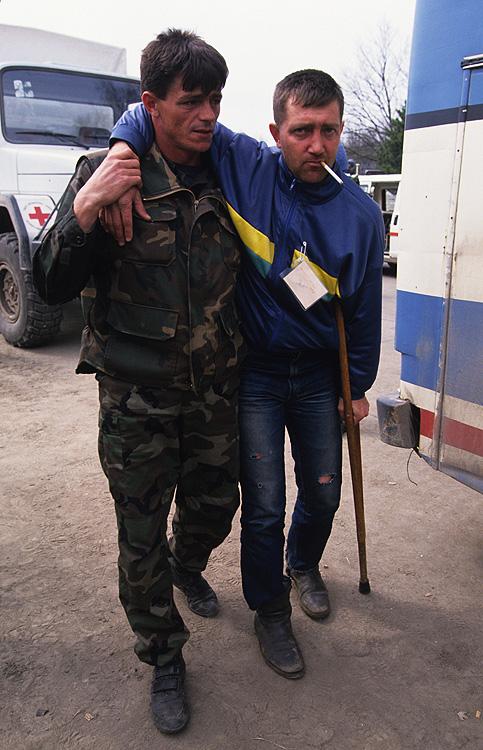 Evacuated from Srebrenica