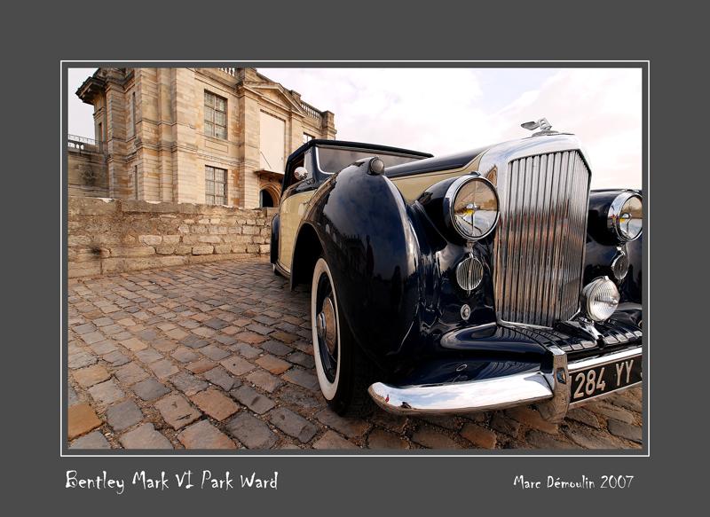 BENTLEY Mark VI Park Ward Vincennes - France