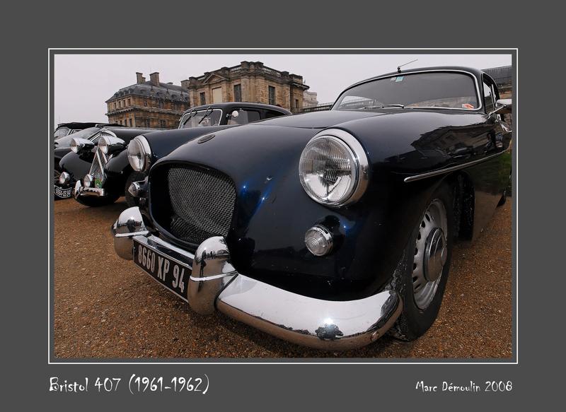 BRISTOL 407 (1961-1962) Vincennes - France