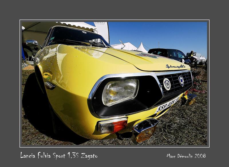 LANCIA Fulvia Sport 1.3S Zagato Reims - France