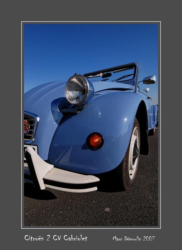 CITROEN 2 cv Cabriolet Poitiers - France