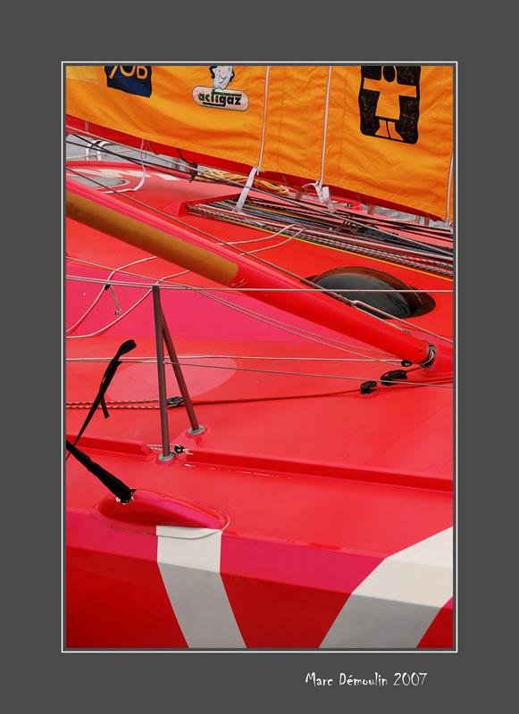 Race sailboat
