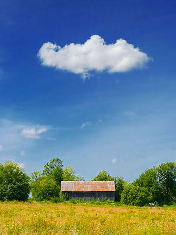 Cloud Over A Barn P1020589