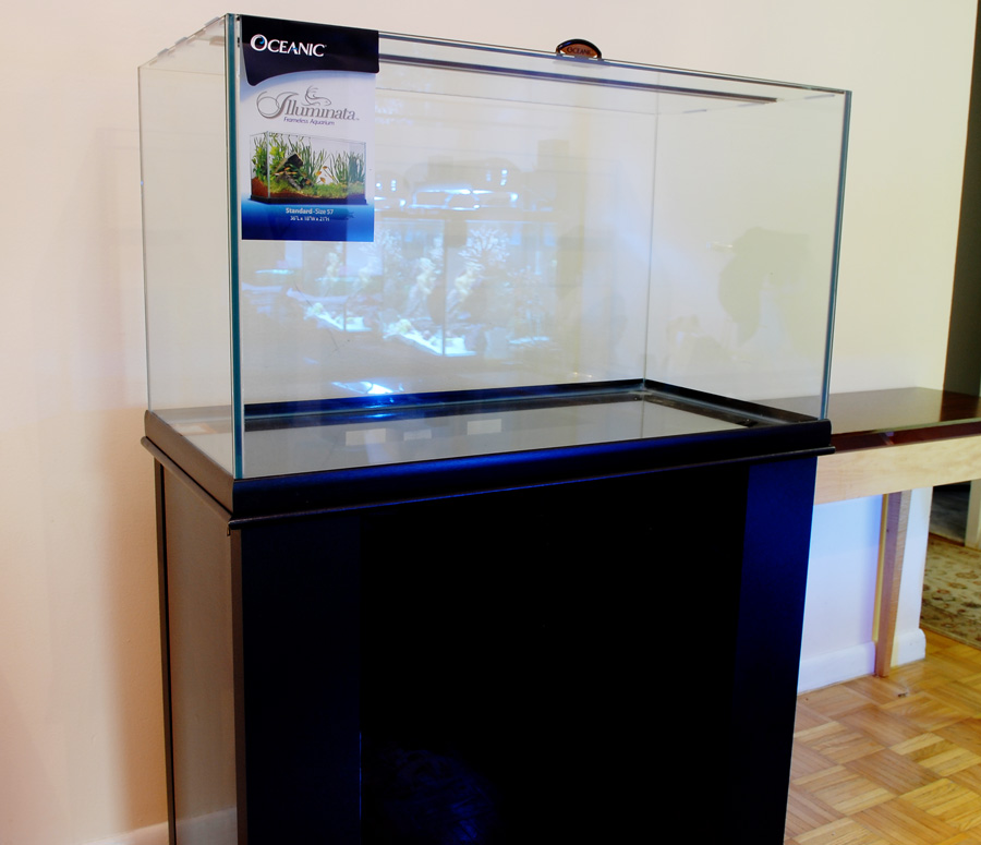 Did someone say bio cube sale how bout illuminata for Rimless fish tank