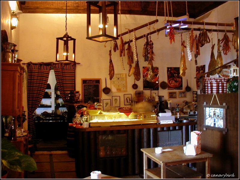 sausage and bread shop, charcuteria, delicatessen