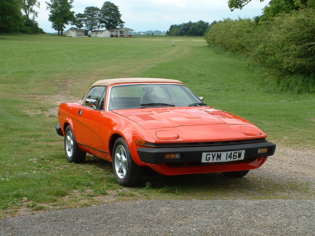 Are there many TR7/8 owners here?? - Post a pic - Page 1 - Triumph