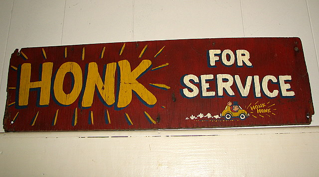 Honk For Service