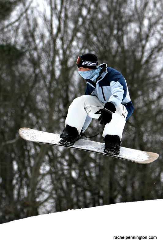 Snowboarding in Alabama