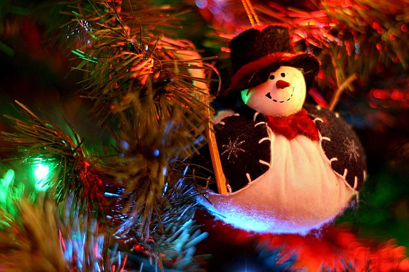 Snowman on the Tree