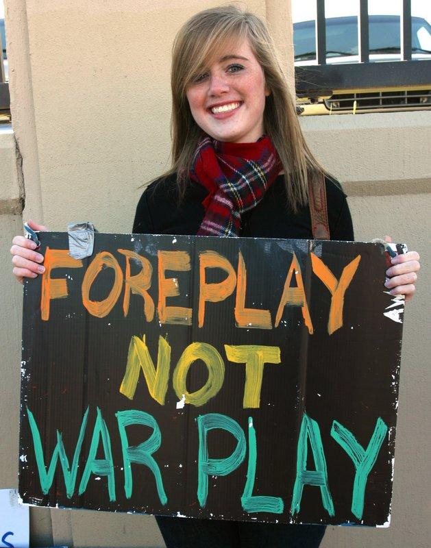 Foreplay not warplay