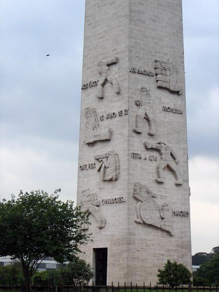 Resultado de imagem para obelisco do ibirapuera