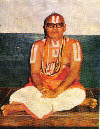Vaikunthavaasi Sudarsanar Puthur Sri.U.Ve.Krishnaswamy Iyengar Swamigal.jpg