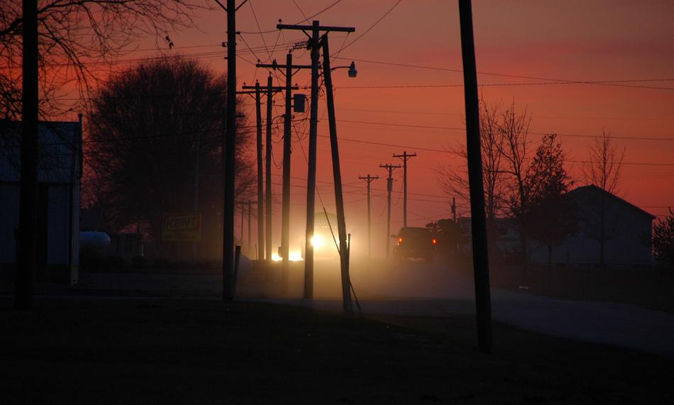 Sunset at Smokey Flats