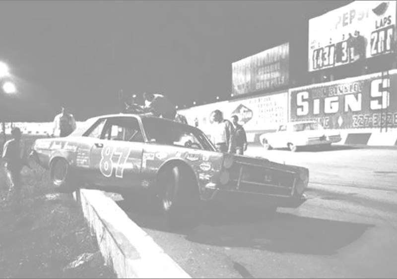 Driver David Dayton (87) 1967