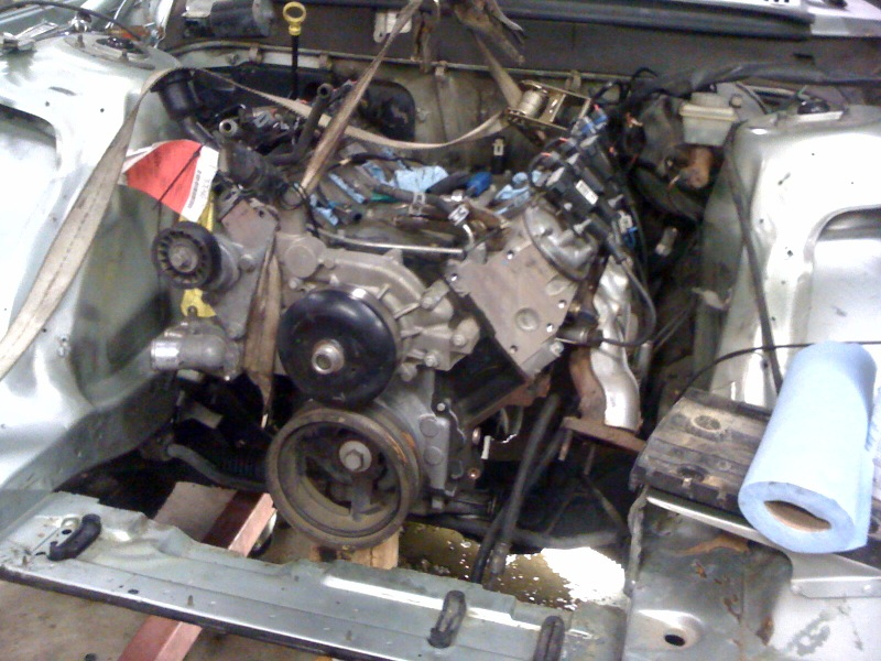 Starting the LM7 / volvo 245 wagon swap - LS1TECH - Camaro and Firebird Forum Discussion