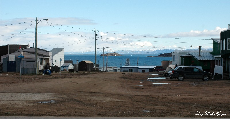 walking Iqaluit