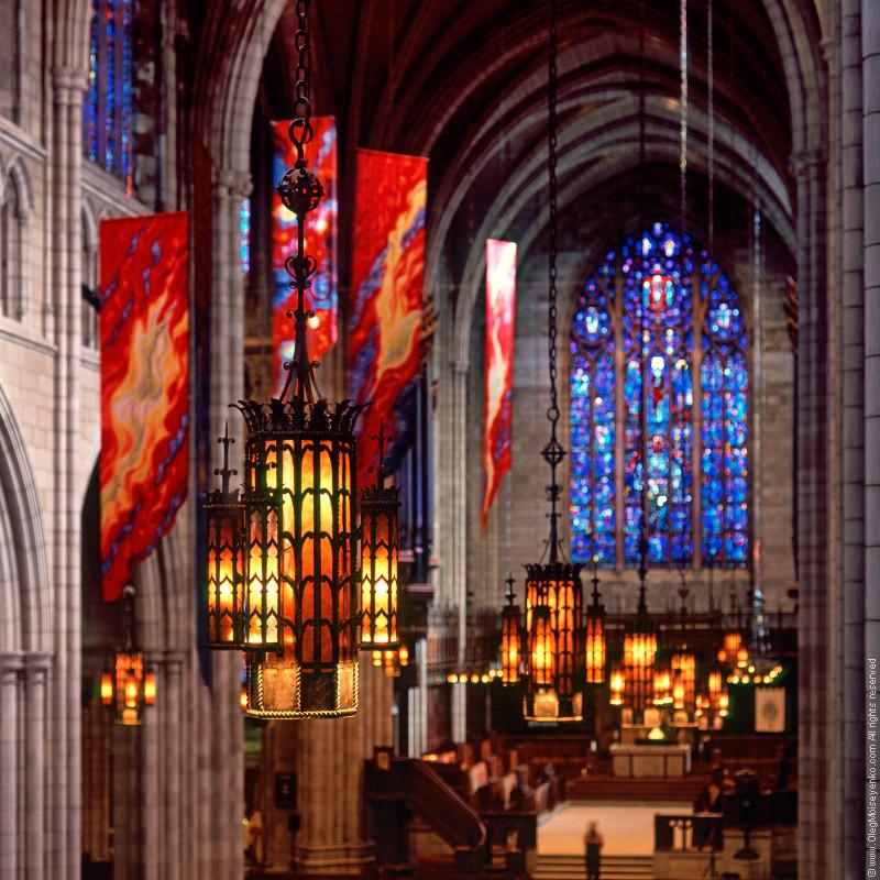 Princeton University Chapel, New Jersey, USA