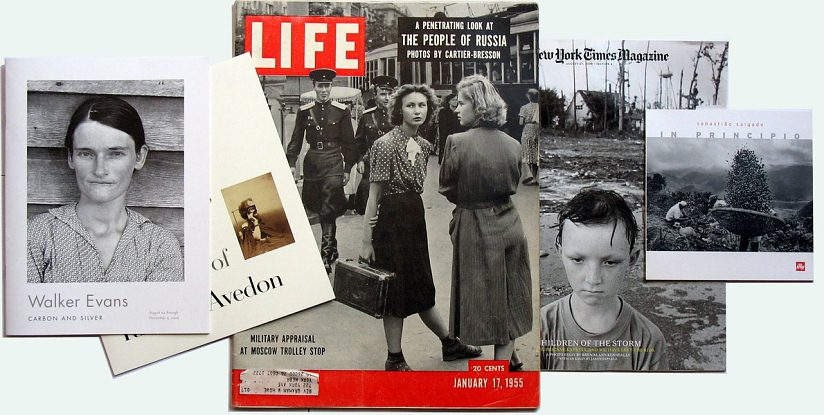 Life Magazine (17 Jan, 1955) with HCB photo from Moscow on the cover page