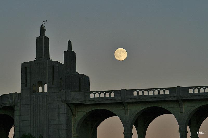 Moon and North Portal Obelisks, Patterson Bridge, Gold Beach, OR