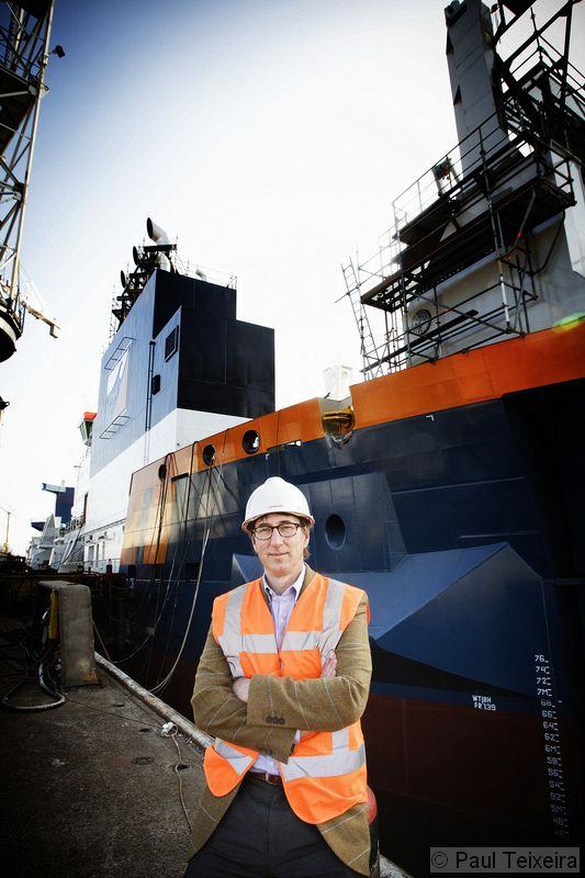 Ton Arrachart - CIO Van Oord (a multinational dredging and marine company)