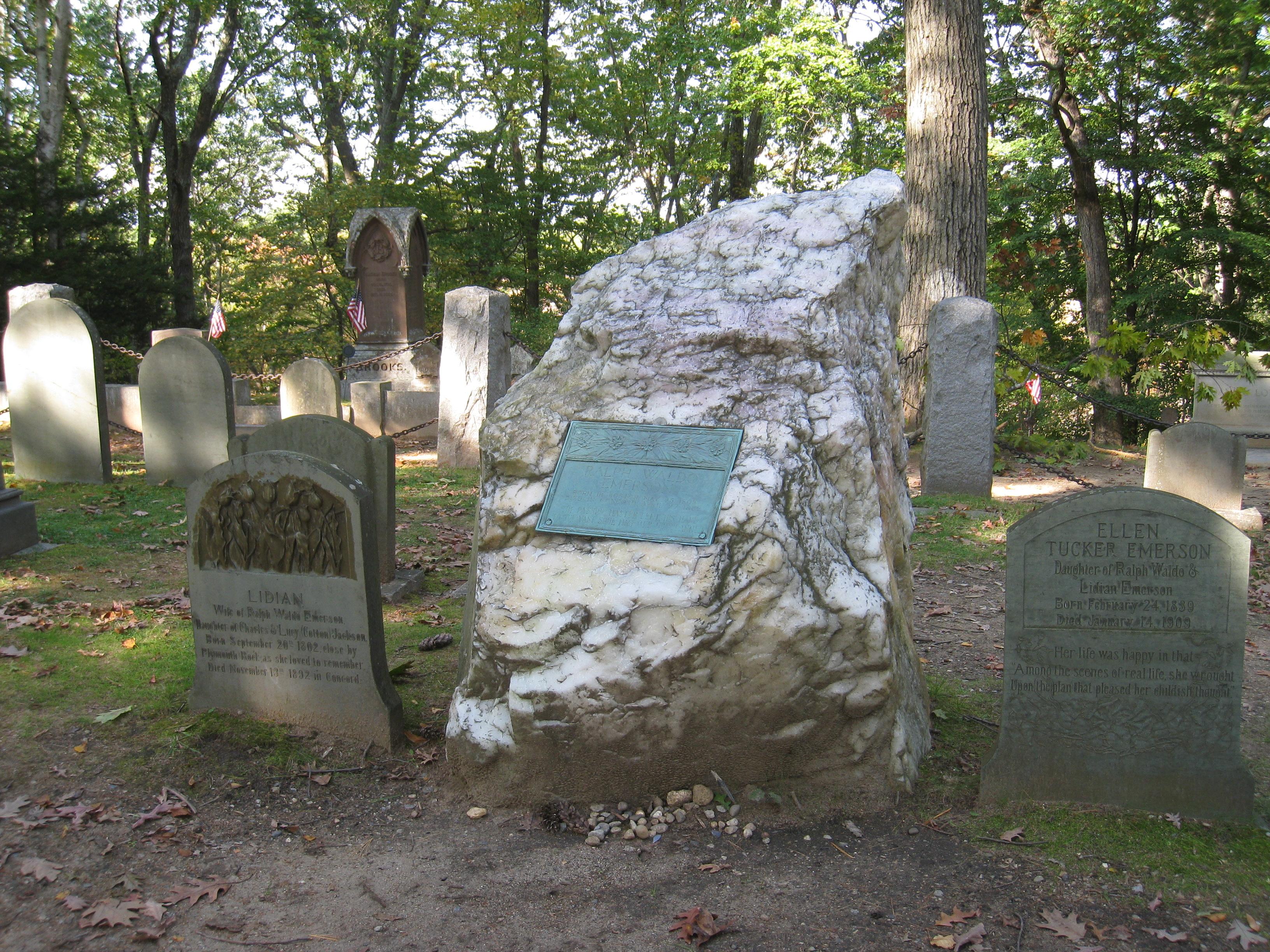 Ralph Waldo Emerson - Sleepy Hollow Cemetery - Concord, Mass.