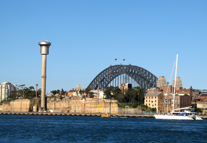 You can see why Sydney Harbour suburb The Rocks got its name.jpg
